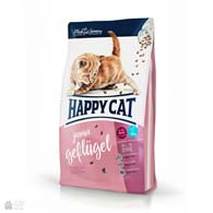 Happy Cat Junior Geflugel, сухой корм для котят в возрасте от 4 до 12 месяцев