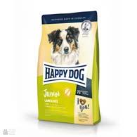 Happy Dog Junior Lamb & Rice, корм для щенков с ягненком и рисом