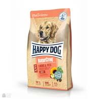 Happy Dog Naturcroq Salmon & Rice, корм для собак с лососем и рисом