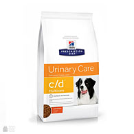 Hill's Prescription Diet Canine c/d Urinary Care Chicken, корм для собак для лечения МКБ
