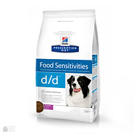 Hill's Prescription Diet Canine d/d Food Sensitivities, Duck & Rice, корм для собак с пищевой аллергией