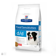 Hill's Prescription Diet Canine d/d Food Sensitivities, Salmon & Rice, корм для собак с пищевой аллергией