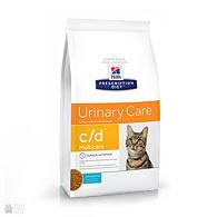 Hill's Prescription Diet c/d Multicare Urinary Care Ocean Fish, корм для кошек с заболеваниями мочевыводящих путей