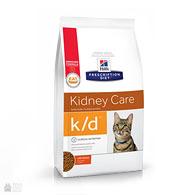 Hill's Prescription Diet k/d Kidney Care Chicken, корм для кошек при заболеваниях почек и сердца