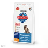 Корм для кошек старше 7 лет Hill's Science Plan Feline Mature Adul 7+ с мясом курицы (старая упаковка)