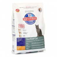 Hill's Science Plan Sterilised Cat Mature Adult 7+ 1,5 кг, корм для стерилизованных кошек
