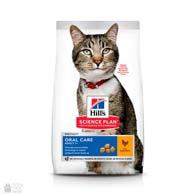 Hill's Science Plan Adult Oral Care, корм для кошек, профилактика зубного налета