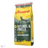 Josera Geflugel & Forelle, корм для собак с птицей и форелью