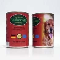 Baskerville с говядиной, консервы для собак