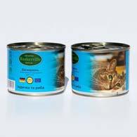 Фото консервированного корма для кошек Baskerville, с индейкой и рыбой, 200 г банка