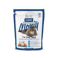 Brit Care Monty I am Living Indoor 0,4 кг, корм для кошек, живущих в помещении