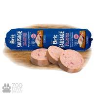 Колбаса для собак Brit Premium Sausage Chicken & White Fish 0,8 кг, с курицей и белой рыбой