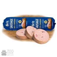 Колбаса для собак Brit Premium Sausage Сhicken, с курицей