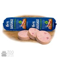 Колбаса для собак Brit Premium Sausage Chicken & Venison, с курицей и олениной