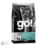GO! Fit+Free Chicken Turkey Trout Recipe Grain Free, корм для взрослых собак и щенков