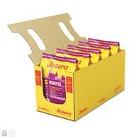 Фото упаковки сухого корма для пожилых собак малых пород Josera Minivita 5 х 0,9 кг