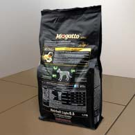 Фото обратной упаковки сухого корма Miogatto Hairball 0.5, 1,5 кг