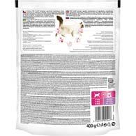 Фото обратной стороны упаковки корма для кошек с чувствительным пищеварением Pro Plan Delicate