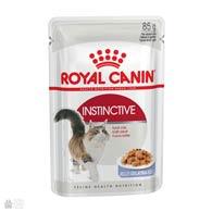 Royal Canin Instinctive в желе, корм для кошек старше 1 года