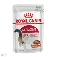 Royal Canin Instinctive в соусе, консервы для котов старше 1 года