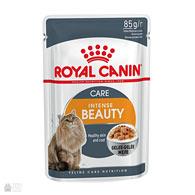 Royal Canin Intense Beauty в желе, консервы для кошек для здоровой кожи и красивой шерсти