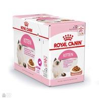 Корм для котят Royal Canin KITTEN INSTINCTIVE в соусе (коробка 12 пачек)
