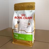 Royal Canin Pug Junior 0,5 кг, корм для щенков мопса