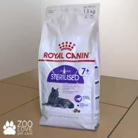 Фото упаковки корма для стерилизованных кошек старше 7 лет Royal Canin STERILISED 7+ 1,5 кг