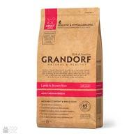 Grandorf Lamb & Brown Rice Adult Medium Breed, корм для собак средних пород