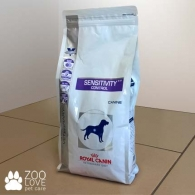 Упаковка сухого корма для собак Royal Canin Sensitivity Control с пищевой аллергией / непереносимостью 1,5 кг