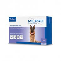 Милпро 12,5 мг / 125 мг (Virbac) Таблетки для перорального преминения, для собак