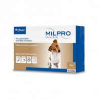 Милпро 2,5 мг / 25 мг (Virbac) Таблетки для перорального применения, для щенков