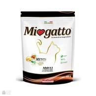 Morando Miogatto Adult 0.3 Veal, корм для кішок з телятиною і ячменем