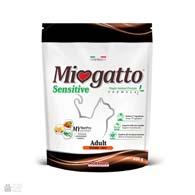 Miogatto Sensitive Adult Turkey, корм для кошек с чувствительным пищеварением с индейкой
