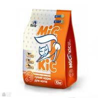 Мис Кис с телятиной, сухой корм для кошек
