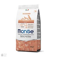 Monge All Breeds Adult Salmon, корм для собак всех пород