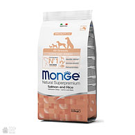 Monge All Breeds Puppy & Junior Salmon, корм для щенков всех пород