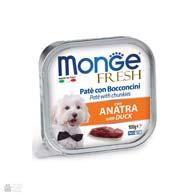 Monge Fresh Duck, консервы для собак, с уткой