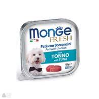 Monge Fresh Tuna, консервы для собак, с тунцом