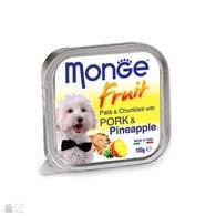 Monge Fruit Pork & Pineapple, консервы для собак, со свининой и ананасами