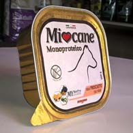 Morando Miocane Monoproteico Prosciutto, консервы для собак, с прошутто (свинина)