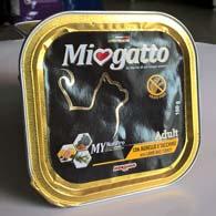 Morando Miogatto с ягнятиной и индейкой 100 г, консервы для кошек