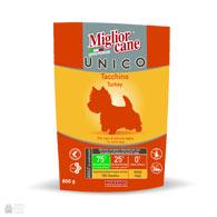 Miglior Cane Unico Turkey, корм для собак малых пород с индейкой