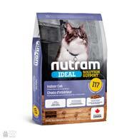 Nutram I17 Ideal Solution Support Indoor Cat, холистик корм для котов, постоянно живущих в помещении