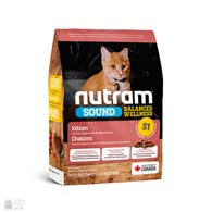 Nutram S1 Sound Balanced Wellness Kitten, холистик корм для котят