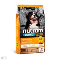 Nutram S3 Sound Balanced Wellness Puppy Large Breed, холистик корм для щенков крупных пород