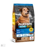 Nutram S6 Sound Balanced Wellness Adult Dog, холистик корм для собак