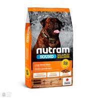 Nutram S8 Sound Balanced Wellness Large Breed Adult, холистик корм для крупных собак