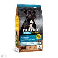 Nutram T25 Total Grain Free Salmon & Trout Dog, беззлаковый холистик корм для собак с лососем и форелью