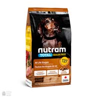 Nutram T27 Total Grain Free Small Breeds Chiken & Turkey, беззлаковый холистик корм для собак малых пород
